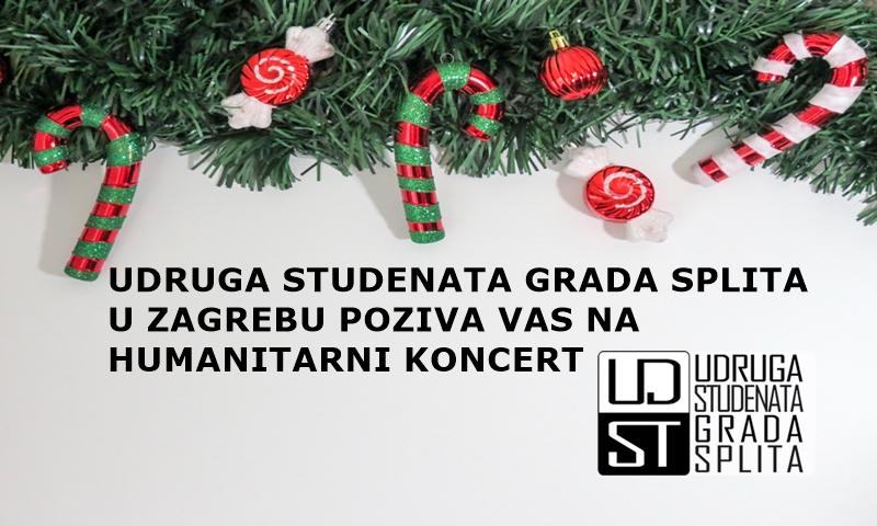 Humanitarni Koncert Udruge Studenata Grada Splita U Zagrebu