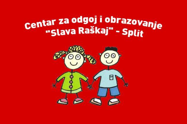 Novosti Centar Za Odgoj I Obrazovanje Slava Raskaj Split